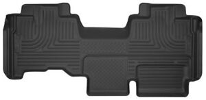 Husky Liners 53441 X act Contour Rear Floor Mat Black For 09 14 Ford F150 Quad