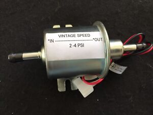 Holley Ford 94 Hot Rod Vintage Speed 12v Low Pressure Fuel Pump 2 To 4 Psi