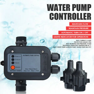 Automatic Water Pump Pressure Controller Electric Electronic Switch Control 220v