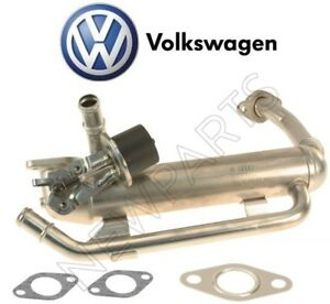 For Vw Jetta 05 06 Tdi Egr Cooler Valve Gaskets Pipe To Manifold Kit Genuine