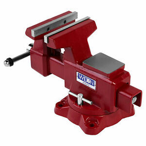 Wilton Utility Bench Vise 6 5 Inch Jaw Width 6 Inch Jaw Opening With Swivel Base