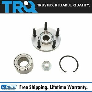 Front Wheel Bearing Hub Kit With Snap Ring Nut Lh Or Rh For Edge Mkx New