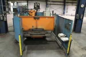 Used Cloos Romat 320 Robotic Welding Cell With Safety Sensors