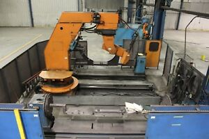 Used Cloos Romat 310 Robotic Welding Cell With Safety Sensors