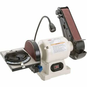 Shop Fox Combo Benchtop Belt  Disc Sander W1838 Tools-Abrasives