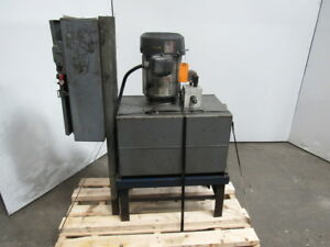 5 Hp 17 Gallon Hydraulic Power Unit 1745rpm 3ph Tested