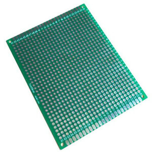 Double Side 7 X 9 Cm Pcb Strip Board Printed Circuit Prototype Track Lw