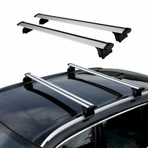 Universal Car Roof Top Rack Cross Bar Luggage Carrier For Bmw X1 X6 Volvo Xc60