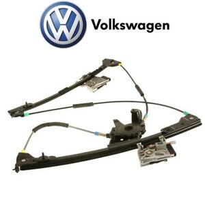 New Front Driver Left Window Regulator Electric Genuine For Vw Cabrio 95 02