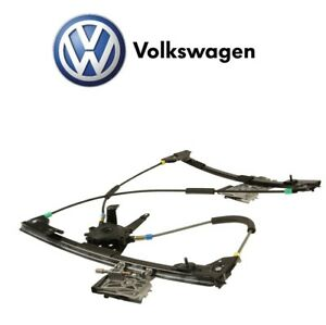 For Vw Cabrio 95 02 Front Passenger Right Side Window Regulator Electric Genuine