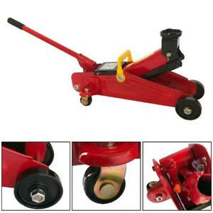 Mini Portable 2 Ton Floor Jack Vehicle Car Garage Auto Small Hydraulic Lift Tool