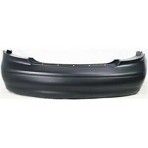 Rear Bumper Cover For 2000 2003 Ford Taurus Sedan Primed