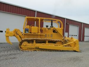 Komatsu D85 E Crawler Dozer Push Blade Rear Ripper Runs Great Exporters Welcome