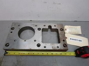 Cnc Machining Center Pit 108231310 Mounting Plate 13 5 x7 25 x1 5 Thick
