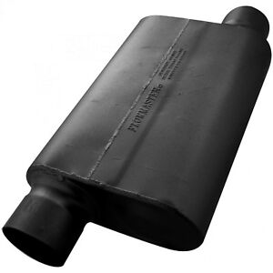 Flowmaster 30 Series Race Muffler 4 00 Offset In 4 00 Offset Out Aggres
