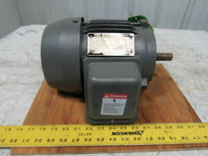 Toshiba B0016flf2am 1hp 1145rpm 3ph 230 460v 145t 7 8 Shaft Ac Motor