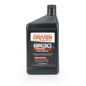 Driven Racing Engine Oil 01806 6 Br30 Break In Oil Mineral 5w 30