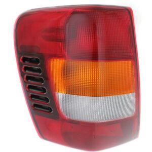 Tail Light For 2002 2004 Jeep Grand Cherokee Lh Models Built From 11 01 Assy