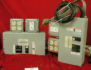 One Sunlight Supply Timer Box 30 Amp 734057 Two Available U157
