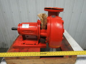 Peerless F2 1050a Horizontal End Suction Centrifugal 6x5 Pump 900gpm 50h ft