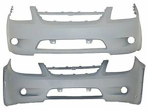Replacement Bumper Cover For 06 08 Chevrolet Cobalt Front Gm1000827v