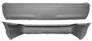 Replacement Bumper Cover For 1998 2011 Crown Victoria rear Fo1100279