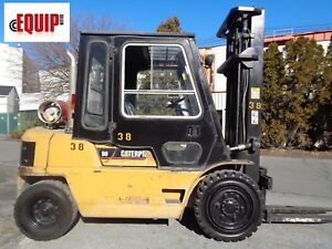 Caterpillar Gp40 8 000lbs Forklift