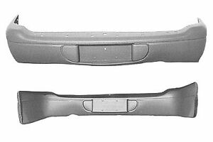 Replacement Bumper Cover For 1998 2003 Dodge Durango Rear Ch1100184c