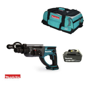 Hammer Drill Makita Dhr202 Dhr202z 18v Lxt With 1 Bl1850 And Lxt400 Tool Bag