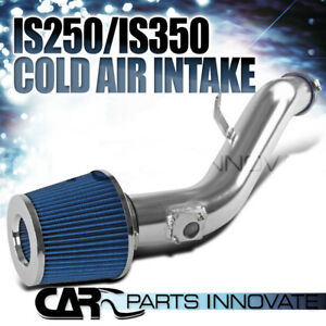 06 11 Lexus Is250 2 5l Is350 3 5l V6 Cold Air Intake Induction filter Blue