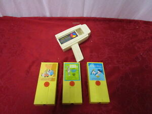 pre owned tested fisher price movie viewer