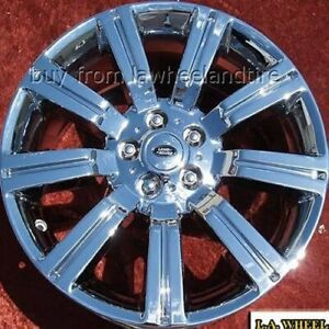 Set Of 4 Chrome 20 Land Rover Range Rover Supercharged Stormer Oem Wheels 72200