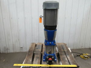 Gould Pump 33svbc0k2ct 15hp 2 1 2 Stainless Steel Vertical Centrifugal 150 Gpm