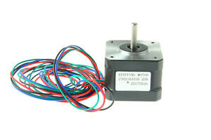Us Stock Nema 17 Stepper Motor 37oz in 12v 0 4a For 3d Pinter Reprap Arduino