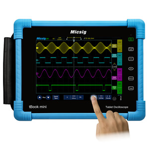 Micsig Tablet Oscilloscope 100mhz 4ch 1gsa s Tbook To1104 Free Serial Decode 1