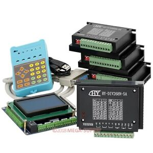 4 Axis Cnc Router Diy Kit 5 Axis Breakout Board 3 Tb6600hg Stepper Motor Driver