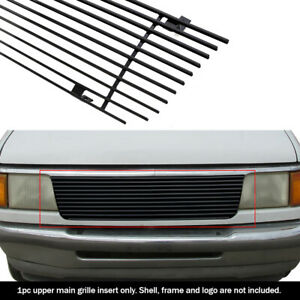 Fits 1993 1997 Ford Ranger Black Billet Grille Insert