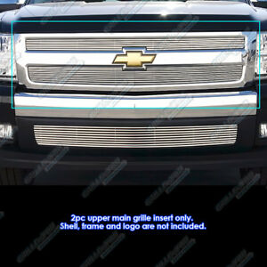 Fits 2007 2012 Chevy Silverado 1500 Phat Billet Grille Grill Insert