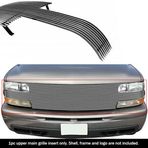 Fits 1999 2002 Chevy Silverado 1500 Full Open Face Billet Grille