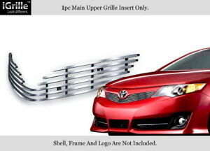 Fits 2012 2014 Toyota Camry Se Stainless Steel Billet Grille Grill Insert