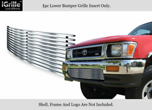 Fits 1992 1994 Toyota Pickup Truck 4wd Stainless Steel Billet Bumper Grille