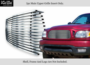 Fits 2001 2004 Toyota Tacoma Stainless Steel Billet Grille Insert