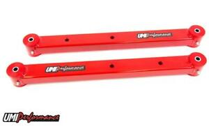 Umi Performance 78 88 Regal G body Rear Boxed Lower Control Arms Red 3024 r