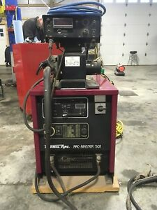 Thermal Arc Arc master 501 Mig Welder Miller Lincoln Hobart Construction