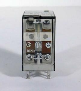 10 Each Finder 55 32 8 240 10a 250v Plug in Relay Nos