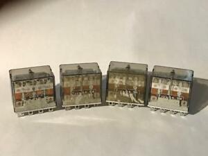 4 Each Finder Type 56 34 12a 250v Relay