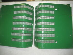 John Deere Tractor Model H Pair Of New Reproduction Grills With Screens
