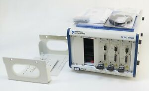 National Instruments Ni Pxi 1042q W Ni Pxi 8102 Controller Chroma 52958 Cards