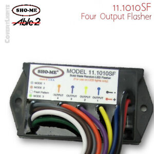Sho me 11 1010sf Led Flasher 4 Output 14 Flash Patterns Made In Usa