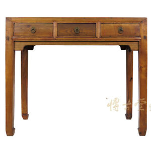 Chinese Antique Carved Secretary Writing Desk 26p29b